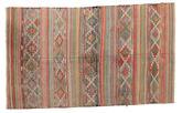 Kilim semi antique Turkish carpet XCGZK126