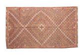 Kilim semi antique Turkish carpet XCGZK123