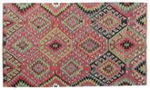 Kilim semi antique Turkish carpet XCGZK122