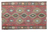 Kilim semi antique Turkish carpet XCGZK1031