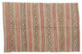 Kilim semi antique Turkish carpet XCGZK1017