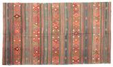 Kilim semi antique Turkish carpet XCGZK999