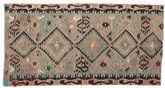 Kilim semi antique Turkish carpet XCGZK994
