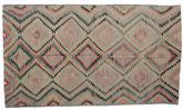 Kilim semi antique Turkish carpet XCGZK992