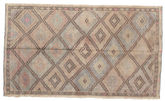 Kilim semi antique Turkish carpet XCGZK987