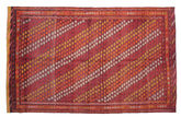 Kilim semi antique Turkish carpet XCGZK985