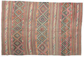 Kilim semi antique Turkish carpet XCGZK984