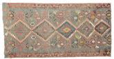 Kilim semi antique Turkish rug XCGZK973