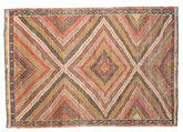 Kilim semi antique Turkish carpet XCGZK972