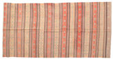 Kilim semi antique Turkish rug XCGZK948
