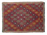 Kilim semi antique Turkish carpet XCGZK930
