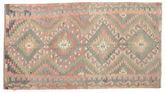 Kilim semi antique Turkish carpet XCGZK927