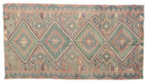 Kilim semi antique Turkish carpet XCGZK926
