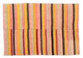 Kilim semi antique Turkish carpet XCGZK923