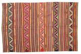 Kilim semi antique Turkish carpet XCGZK919