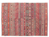 Kilim semi antique Turkish carpet XCGZK905
