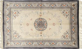 China art silk 120 Line carpet FAZA49