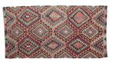 Kilim semi antique Turkish carpet XCGZK312