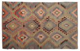 Kilim semi antique Turkish carpet XCGZK306