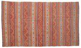 Kilim semi antique Turkish carpet XCGZK305