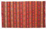 Kilim semi antique Turkish carpet XCGZK303