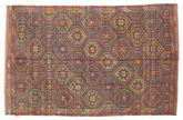 Kilim semi antique Turkish carpet XCGZK293