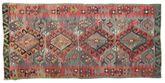 Kilim semi antique Turkish carpet XCGZK287