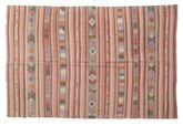 Kilim semi antique Turkish carpet XCGZK254