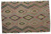 Kilim semi antique Turkish rug XCGZK230