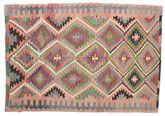 Kilim semi antique Turkish carpet XCGZK227