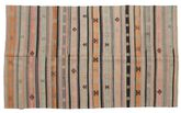 Kilim semi antique Turkish carpet XCGZK222