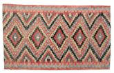 Kilim semi antique Turkish carpet XCGZK867