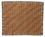 Kilim semi antique Turkish carpet XCGZK855