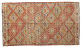 Kilim semi antique Turkish carpet XCGZK852