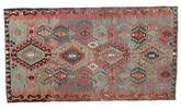 Kilim semi antique Turkish carpet XCGZK844