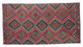 Kilim semi antique Turkish carpet XCGZK841
