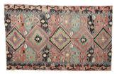 Kilim semi antique Turkish carpet XCGZK836