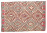 Kilim semi antique Turkish carpet XCGZK804