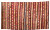 Kilim semi antique Turkish carpet XCGZK797