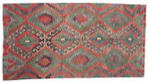 Kilim semi antique Turkish carpet XCGZK786