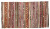 Kilim semi antique Turkish carpet XCGZK782
