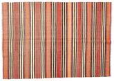 Kilim semi antique Turkish carpet XCGZK781