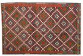 Kilim semi antique Turkish carpet XCGZK540