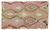 Kilim semi antique Turkish carpet XCGZK527