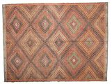 Kilim semi antique Turkish carpet XCGZK523