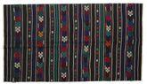 Kilim semi antique Turkish carpet XCGZK510