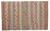 Kilim semi antique Turkish carpet XCGZK509