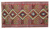 Kilim semi antique Turkish carpet XCGZK506