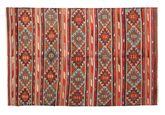 Kilim semi antique Turkish carpet XCGZK494