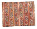 Kilim semi antique Turkish carpet XCGZK491